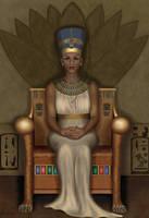 Nefertiti by ChristineMarieArt