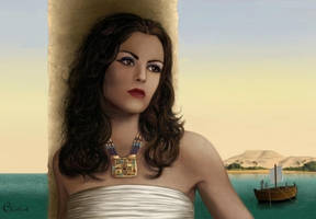 Nile by ChristineMarieArt