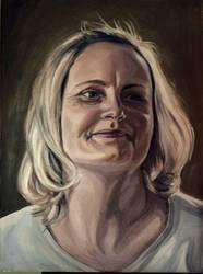 portrait of my mom by Tosialke
