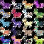 Chibi Dogs III OTA - Points/Art - 14/20 OPEN by PennyADayAdopts