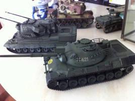 1/35 scale Kampfpanzer Leopard by BazSg