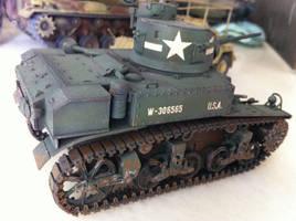 1/35 scale Tamiya's M3 Stuart by BazSg