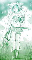 Druid Girl by HitmanN