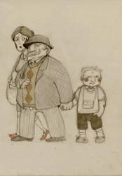The Dursleys by faQy