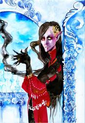 behind throne of numenor by faQy