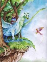 collab: Kraj lesa by faQy