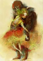 Yavanna and Aule by faQy