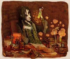 Severus Snape by faQy