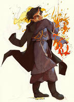 the Flame alchemist by faQy