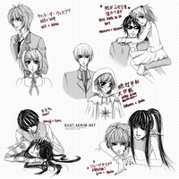 Couples Sketch Dump 2 by aeriim