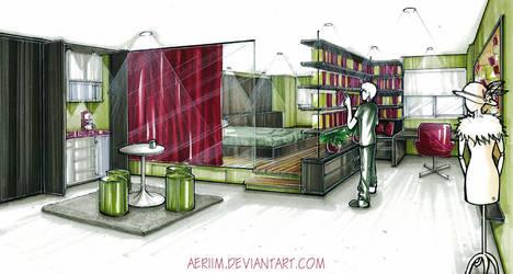 Apartment Design by aeriim