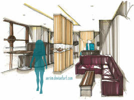Teahouse Design by aeriim