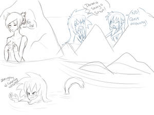 At the Springs~ :WIP: by Ootsutsuki
