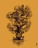 Treehouse Daily Pixels X5 by TRUEvector