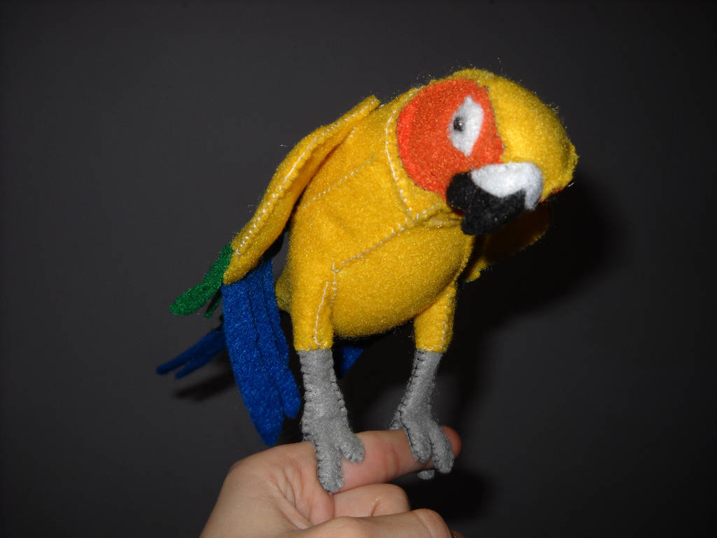 Sun Conure Plush By Shamaru On Deviantart