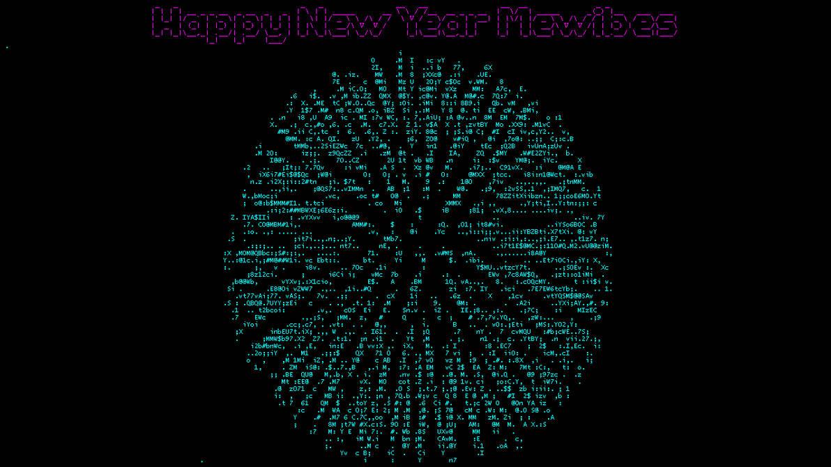 Happy New Year Mewbies - ASCIIMation by mewbies