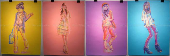 Colour Fashion Set by Nikarma