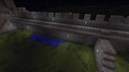 Helm's Deep 3, Deeping Wall by ShadowpwnLord9999