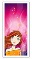 Lady in Pink Mood by maem3i