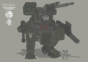 Talos class BA-00 Killer queen by obokhan
