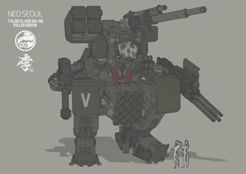 Talos class BA-00 Killer queen by obokhan