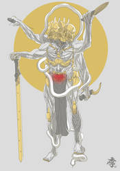The Pale king by obokhan