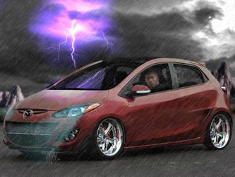 Mazda 2 by HawkDon
