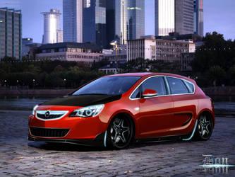 Opel Astra 2010 by HawkDon