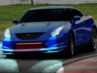 Nissan GT-R by HawkDon