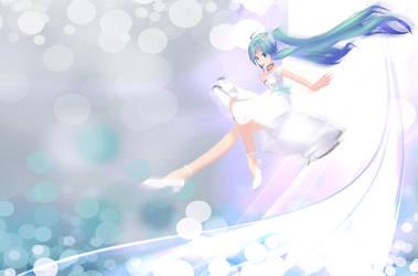 MMD - Miku Fly - DL by NaoHara
