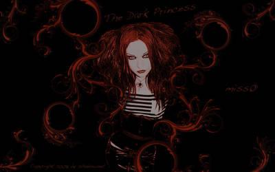 miss0 - Dark Princess by darkshadownet