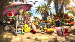 Koopa Troopa Beach   Nintendo by Urbanator