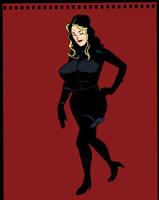 Secret Agent Girl Sketcheroo by darrellsan