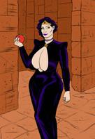 Evil Queen by darrellsan