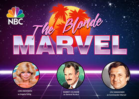 Blonde Marvel 80s TV show by darrellsan