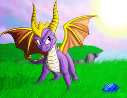 Spyro the Dragon by Lifefantasyx