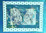 Floral Butterfly Card by Jamie-Nicole