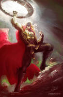 Thor Hammer Time by CharlyChive