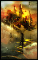 Babylon Towers by JonGibbons