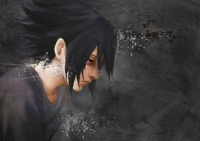 Uchiha Sasuke by Quill-q