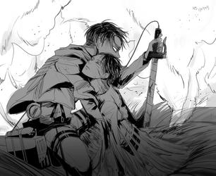 Eren n Levi by Hanbiru