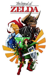 Finale ending page for Zeldanime episode One by crazyfreak