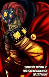 Ganondorf gift for Meghan by crazyfreak