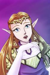 Princess Zelda 2013 by crazyfreak