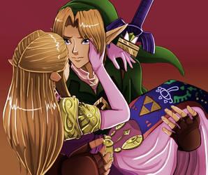 Zelda are you okay? by crazyfreak