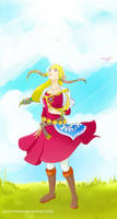 Skyward Sword Zelda by crazyfreak