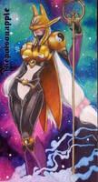 Sakuyamon from Digimon by DanThePoisonApple