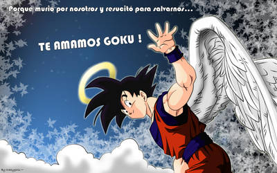Goku Facebook Picture by Crazygirlx