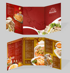 Restaurant menu by funkycide