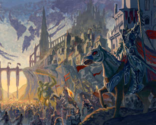 Castle Siege (Colored) by PATVIT